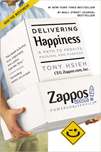 Delivering Happiness Book Cover Image
