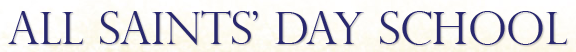 all saints day school logo
