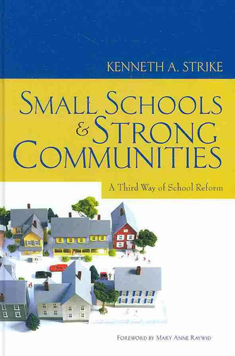 small schools strong communities book cover image